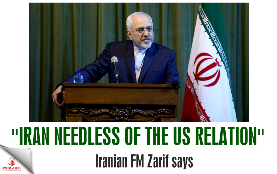 Iran needless of US relation: Zarif