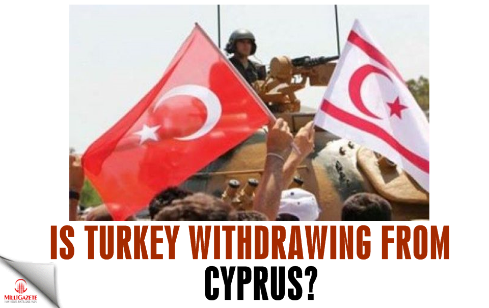 Is Turkey withdrawing from Cyprus?