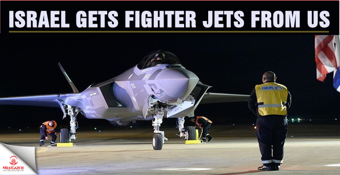 Israel gets fighter jets from US