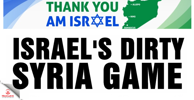 Israel's dirty Syria game