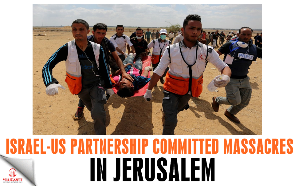 Israel-US partnership committed massacres in Jerusalem