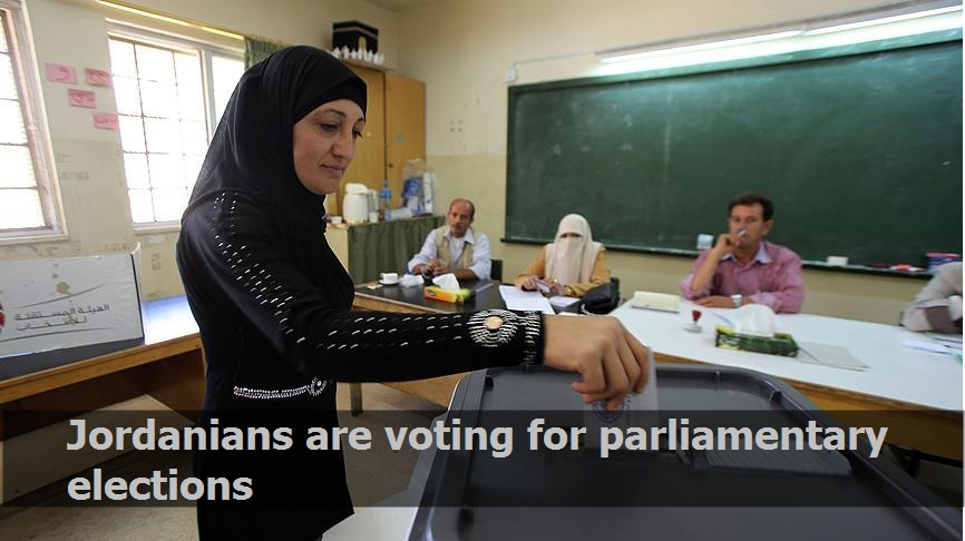 Jordanians are voting for parliamentary elections