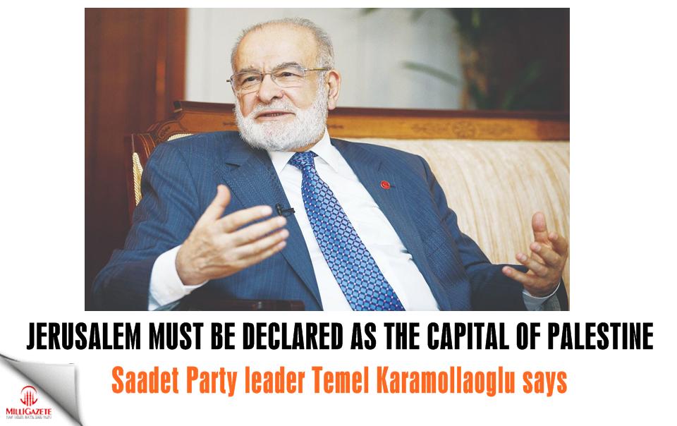 Karamollaoğlu: Jerusalem must be declared as the capital of Palestine