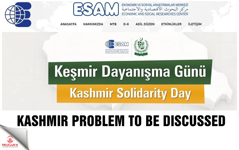 Kashmir problem to be discussed