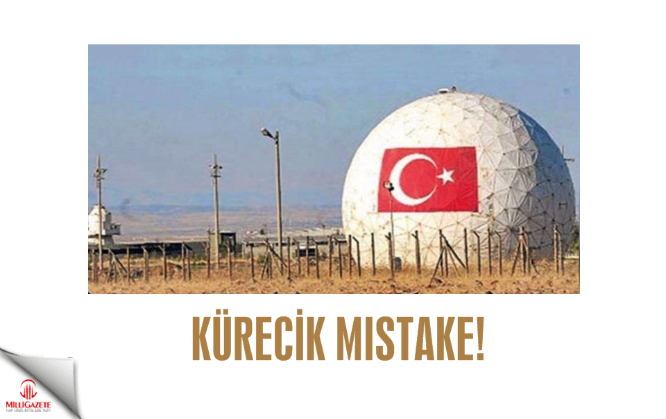 Kürecik mistake!