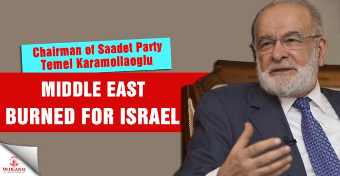Middle East burned for Israel