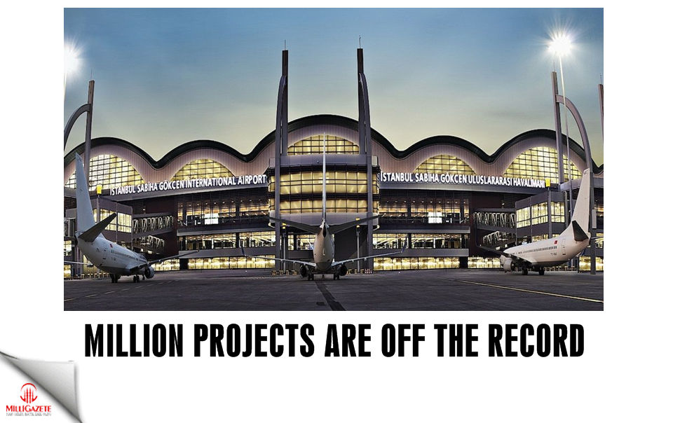 Million projects are off the record