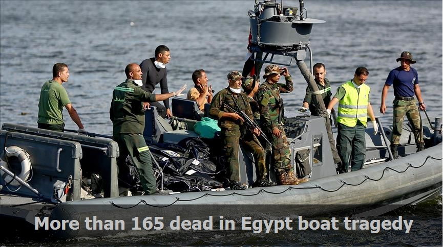 More than 165 dead in Egypt boat tragedy
