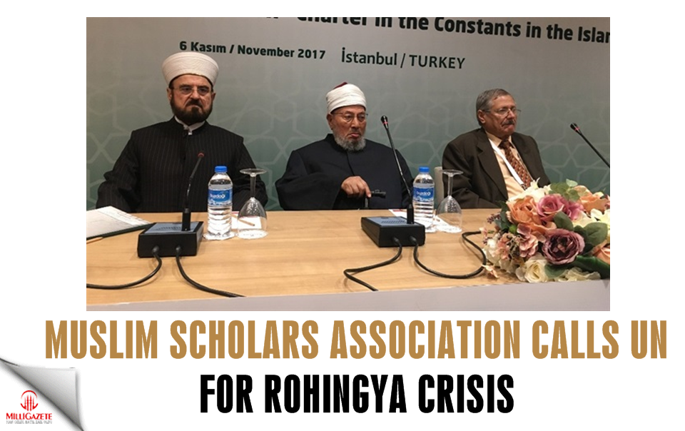 Muslim Scholars Association calls UN for Rohingya crisis