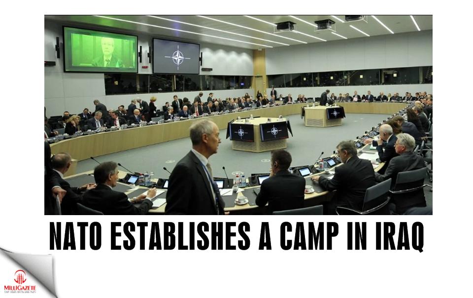 NATO establishes a camp in Iraq