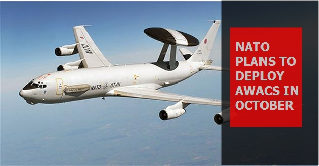 NATO plans to deploy AWACS in October
