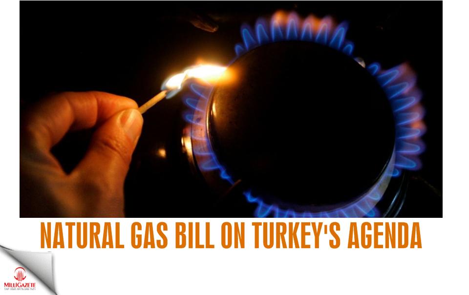 Natural gas bill on Turkey's agenda