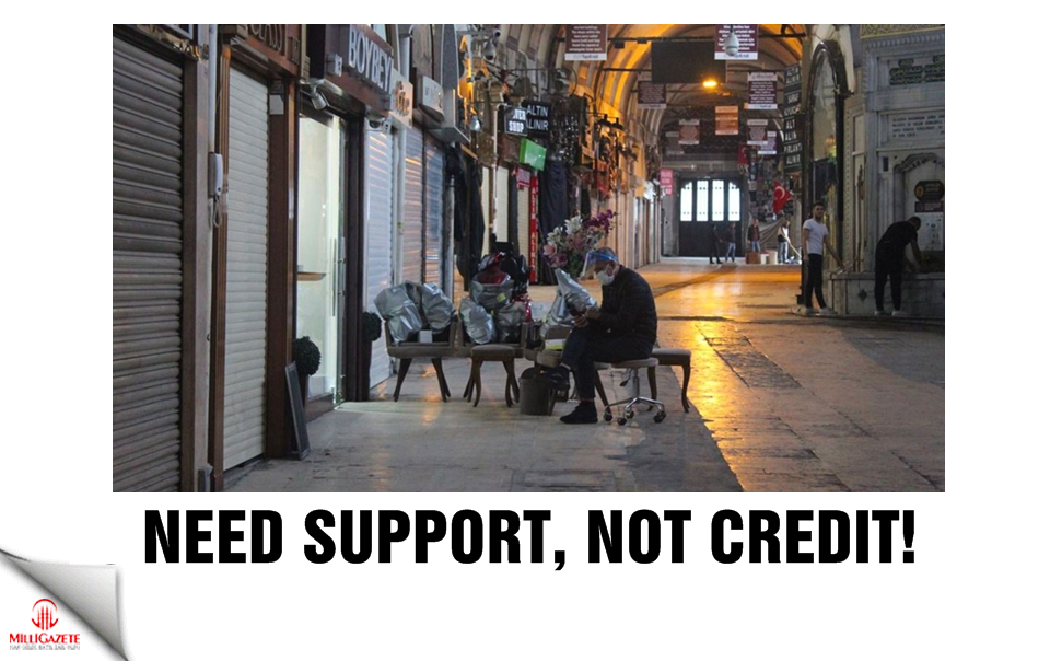 Need support, not credit!