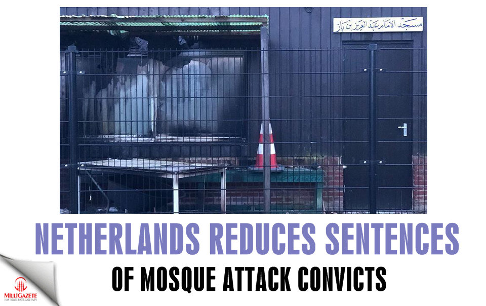 Netherlands reduces sentences of mosque attack convicts