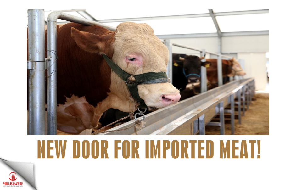 New door for imported meat!