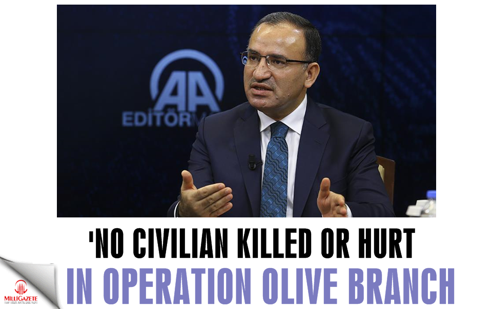 'No civilian killed or hurt in Operation Olive Branch'