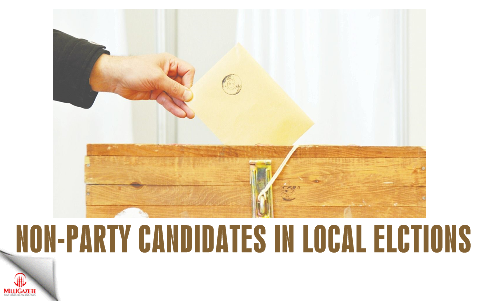 Non-party candidates in local elections