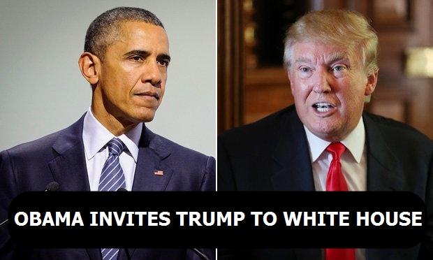 Obama invites Trump to White House