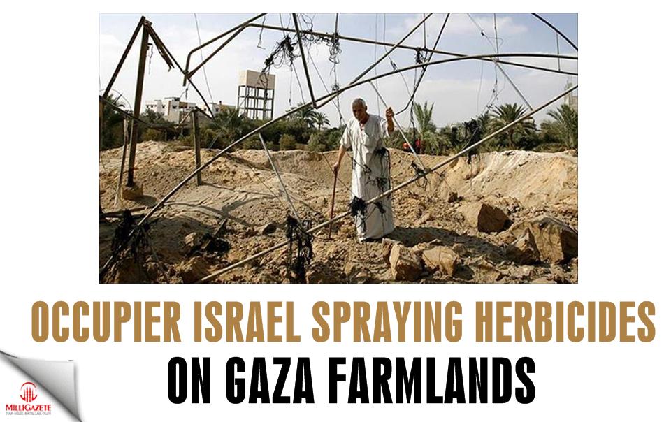 Occupier Israel spraying herbicides on Gaza farmlands: official