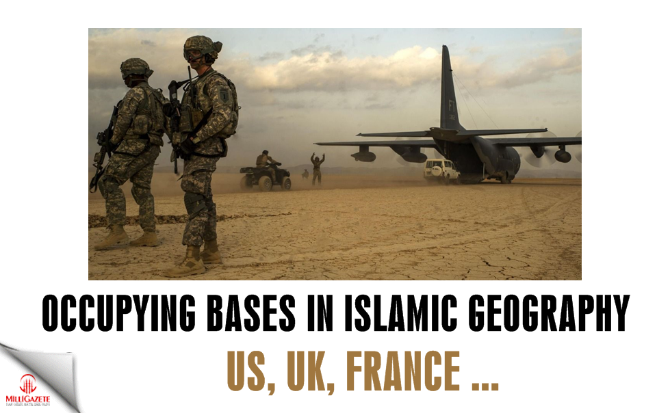 Occupying bases in Islamic geography