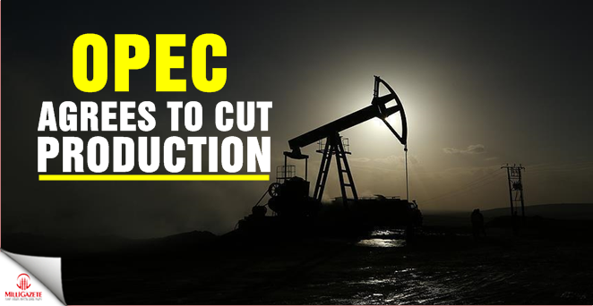 OPEC agrees to cut production