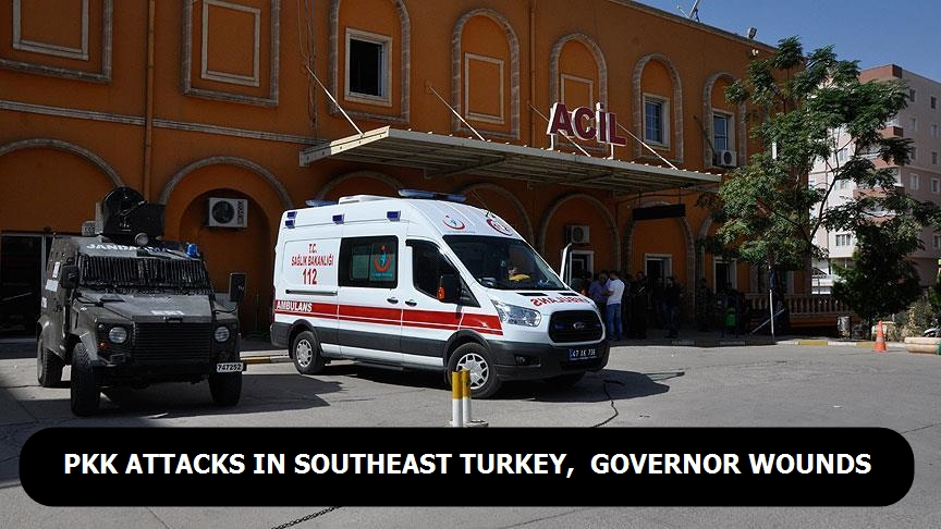 PKK attack in southeast Turkey, governor wounds