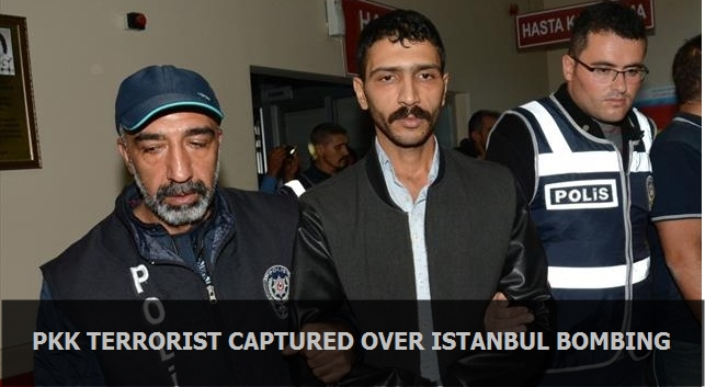 PKK terrorist captured over Istanbul bombing