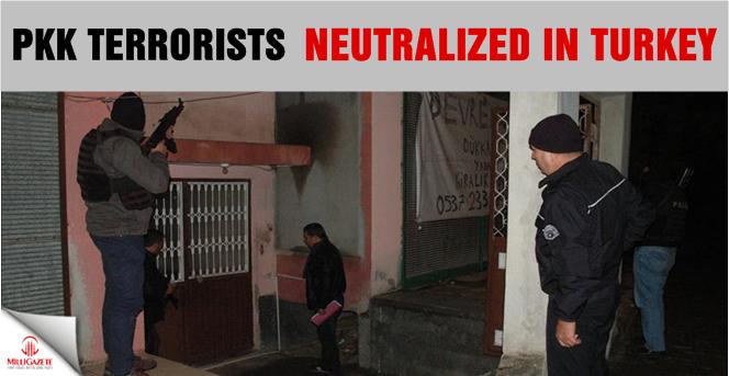 PKK terrorists neutralized in Turkey