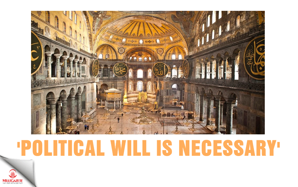 'Political will is necessary'