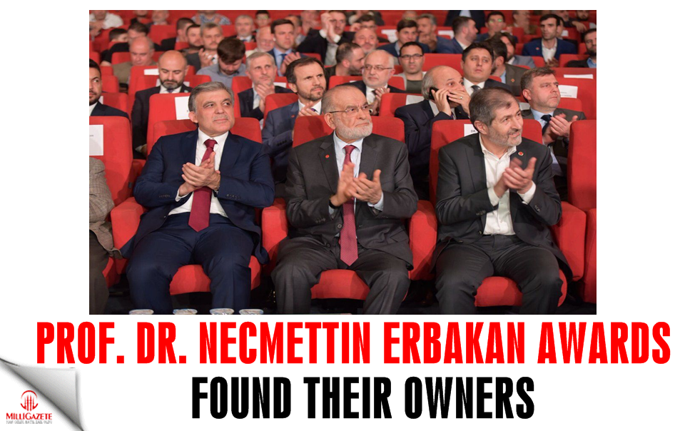 Prof. Dr. Necmettin Erbakan Awards found their owners