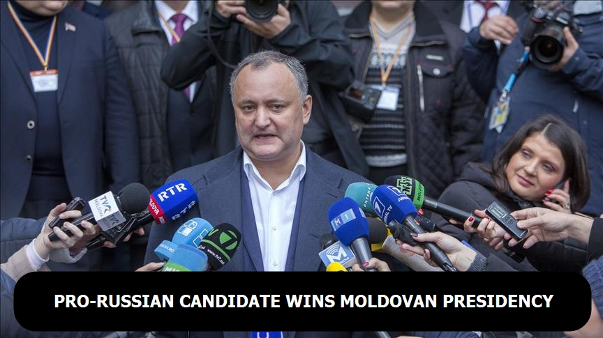 Pro-Russian candidate wins Moldovan presidency