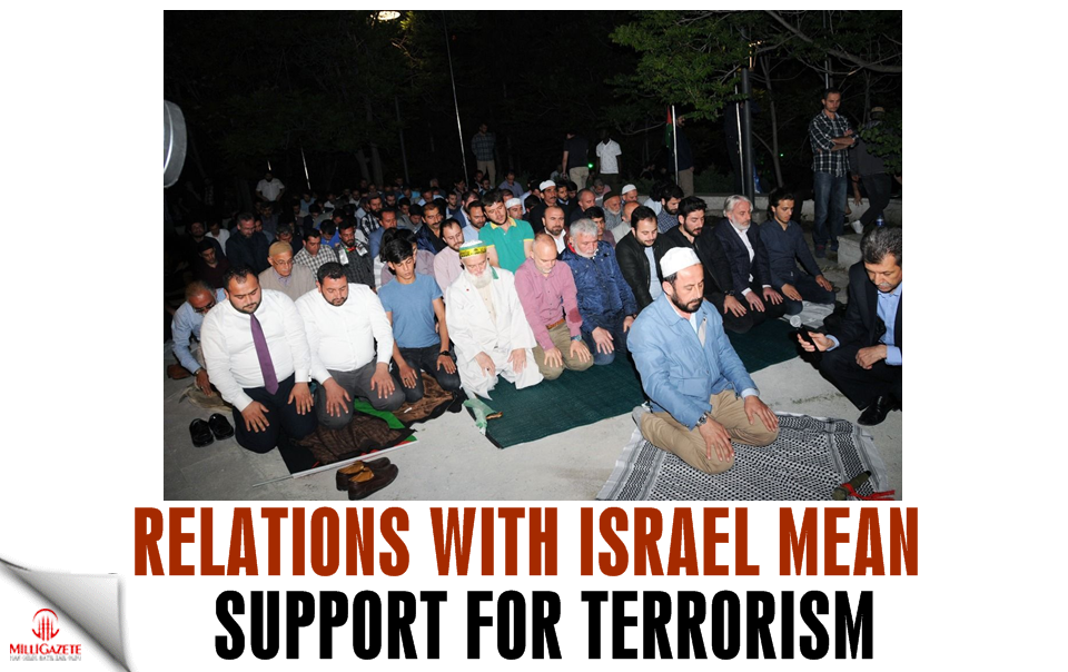 Relations with Israel mean support for terrorism