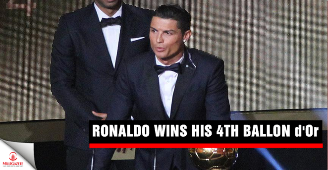 Ronaldo wins his 4th Ballon d'Or
