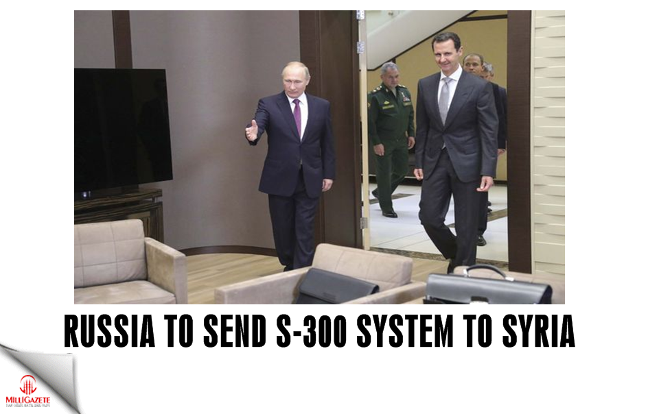 Russia to send S-300 systems to Syria