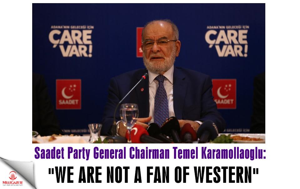 Saadet leader Karamollaoglu: