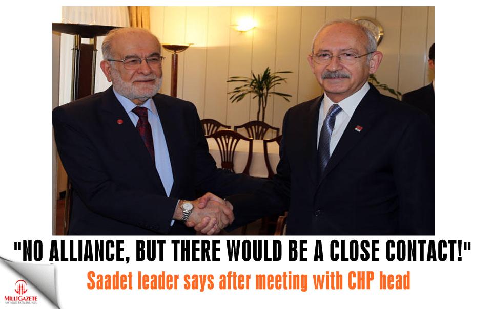 Saadet Party leader Karamollaoglu: