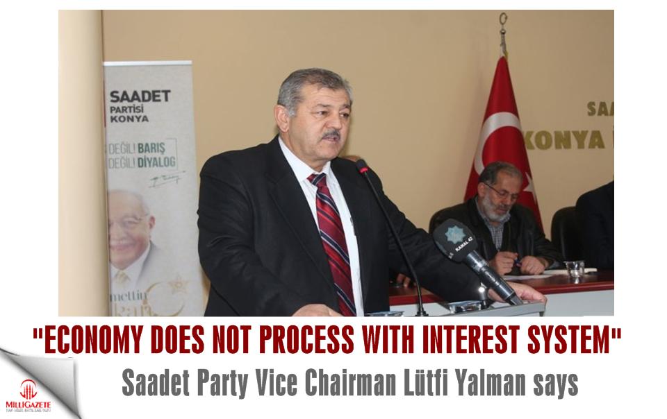 Saadet Party Vice Chairman Lütfi Yalman: