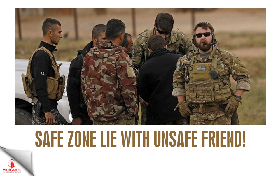 Safe zone lie with unsafe friend!