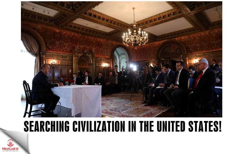 Searching civilization in the United States of America!
