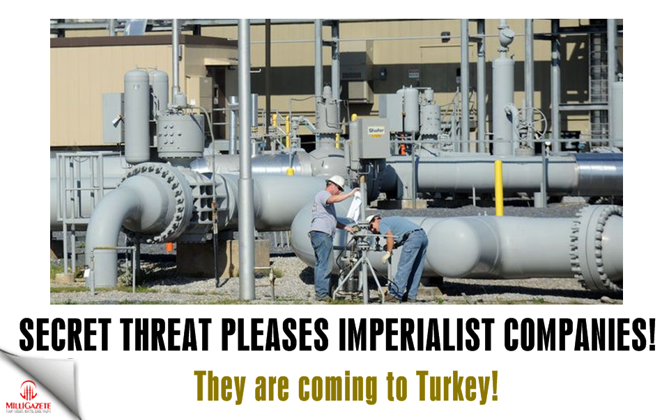 Secret threat pleases imperialist companies