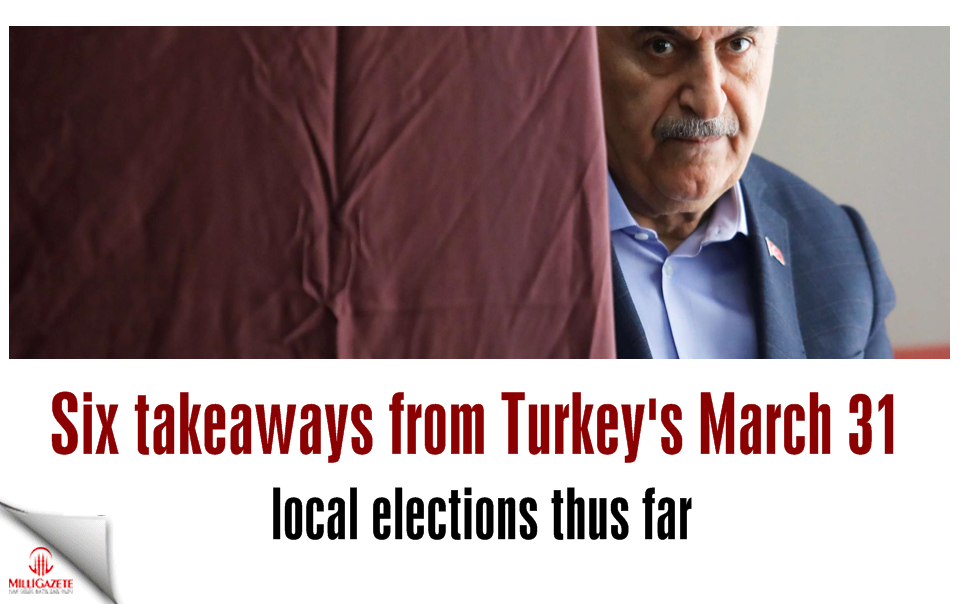 Six takeaways from Turkey's March 31 local elections thus far