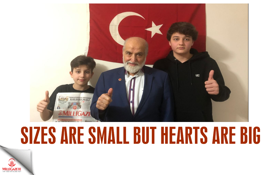 Sizes are small but hearts are big