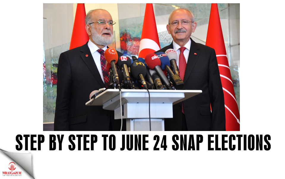 Step by step to June 24 snap elections