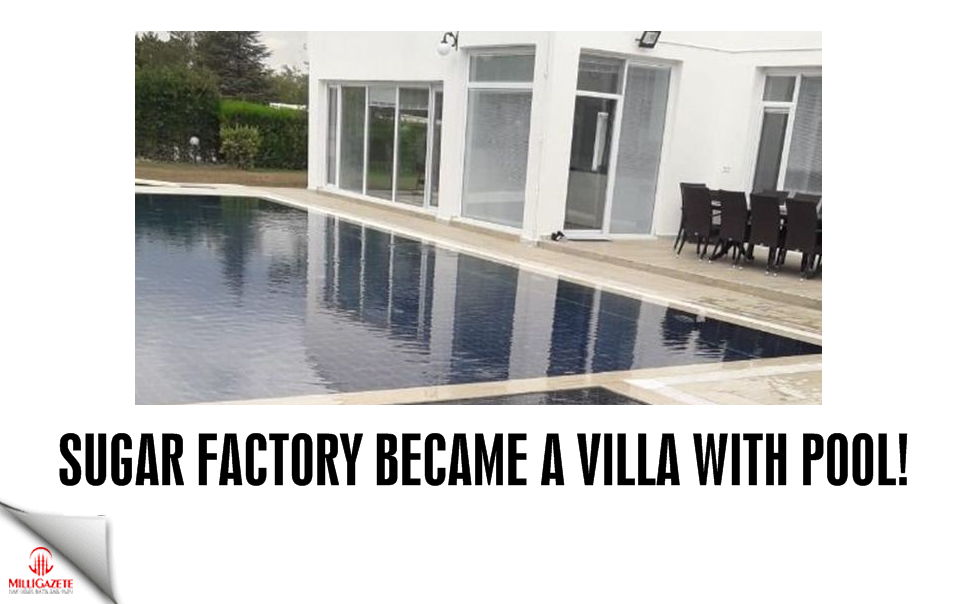 Sugar factory became a villa with pool!