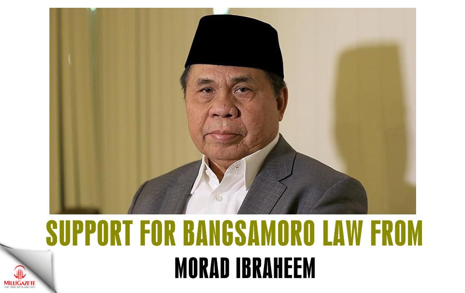 Support for Bangsamoro Law from Morad Ibraheem