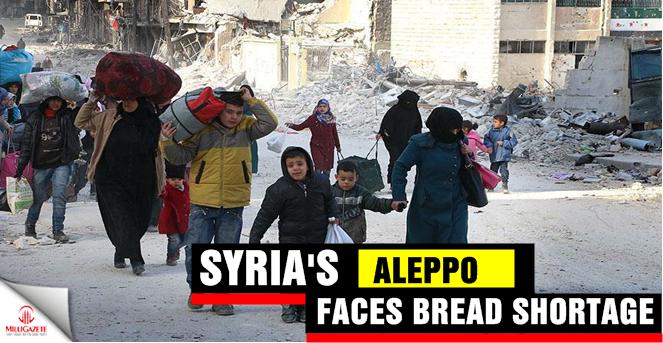 Syria's Aleppo faces bread shortage