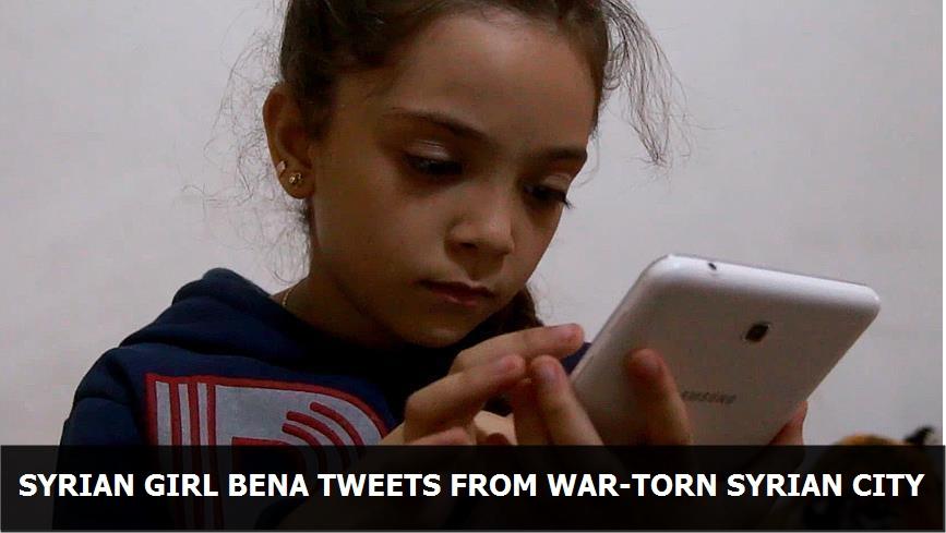 Syrian Girl Bana tweets from war-torn Syrian city