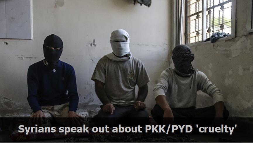 Syrians speak out about PKK/PYD 'cruelty'