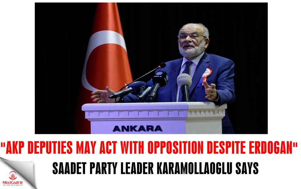 Temel Karamollaoğlu: AKP deputies may act with opposition despite Erdogan
