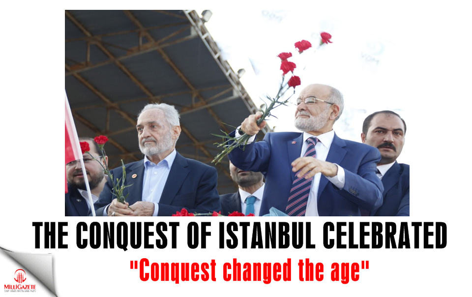 The conquest of Istanbul was celebrated with enthusiasm! Conquest changed the age